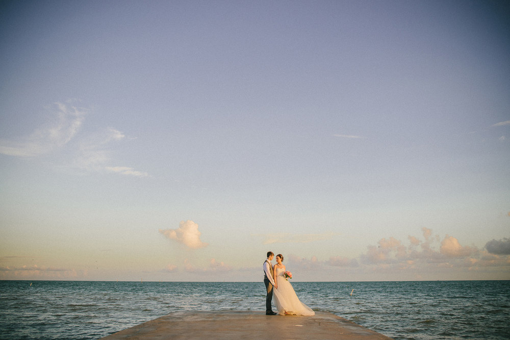 key west ocean wedding
