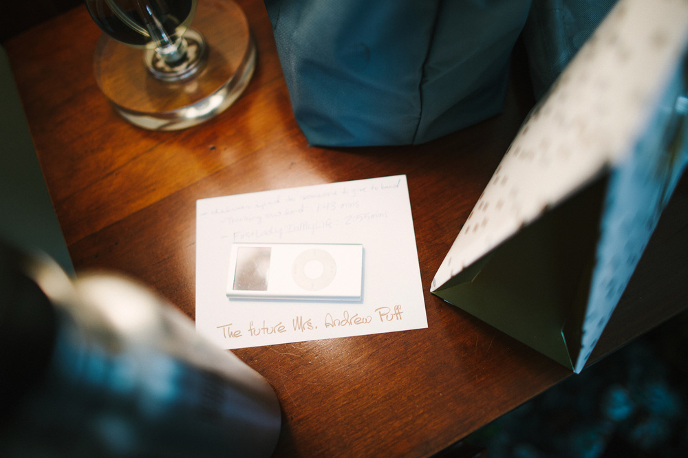 digital playlist for wedding reception
