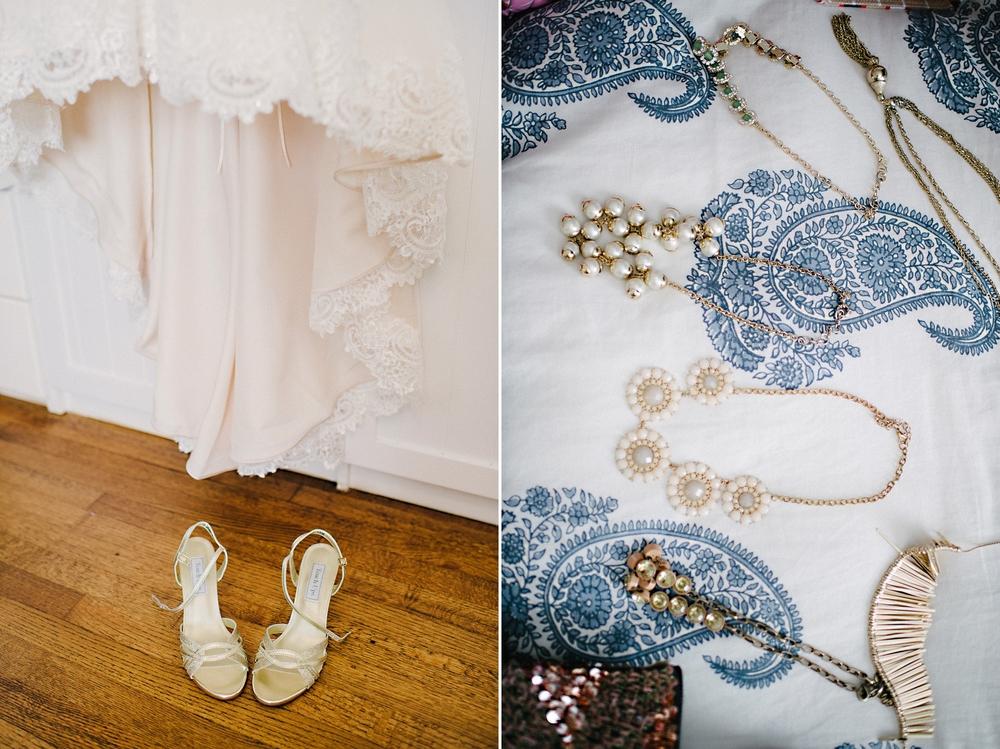 classy but stylish wedding details