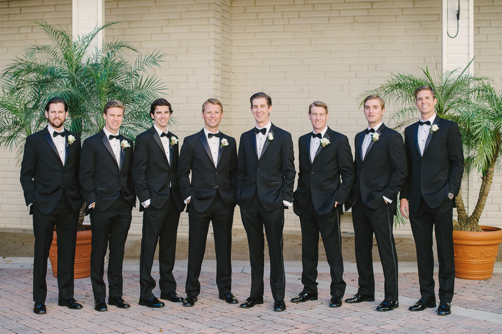 Classic Wedding Tux Groomsmen Winter Park, FL