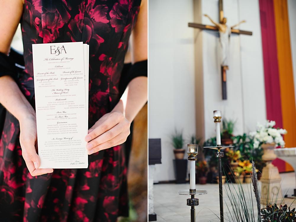 St. Margaret Mary Catholic Church Winter Park, FL Wedding