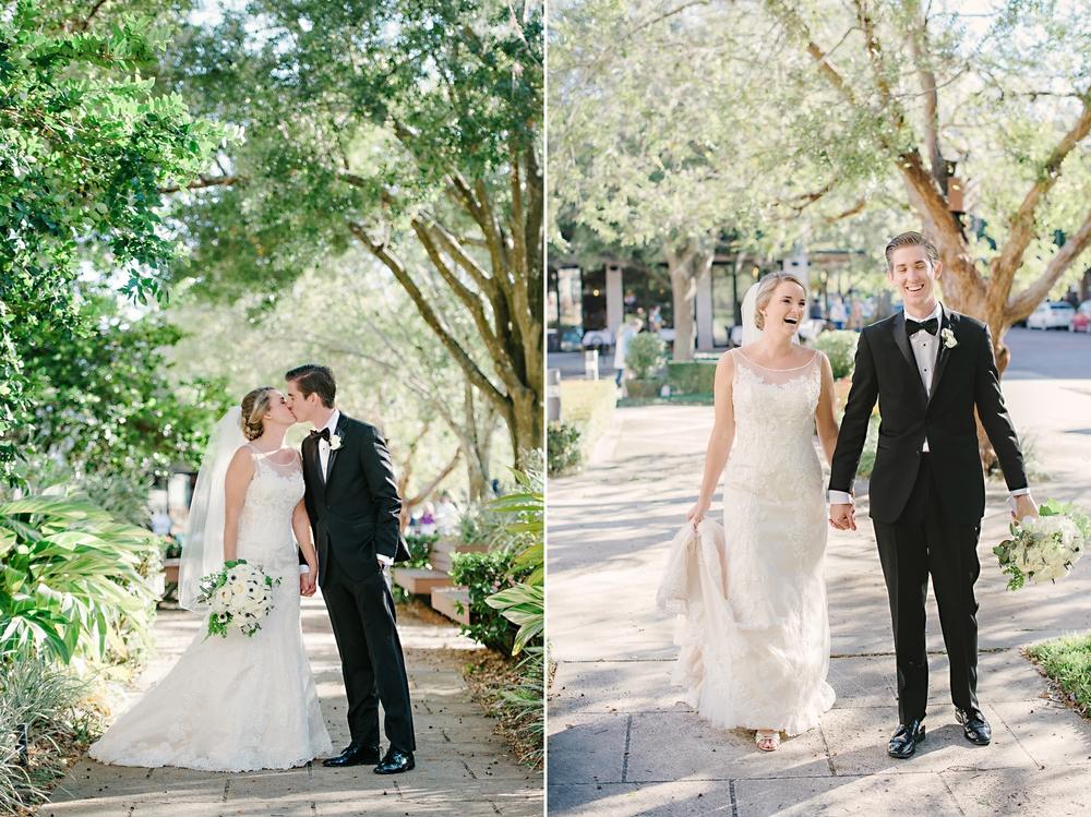 Downtown Winter Park, FL Wedding Park Ave