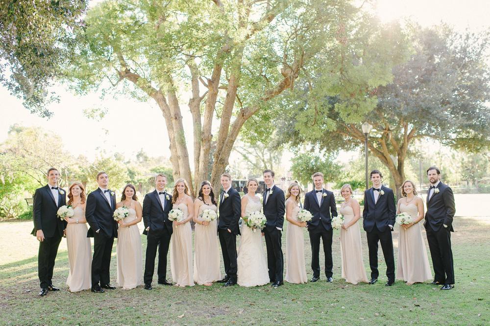 Champaign Bridesmaid Dresses Black Tux Groomsmen