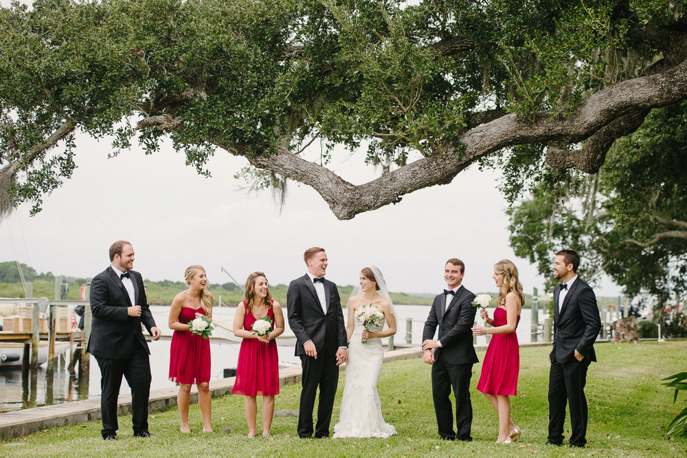 Backyard Destination Wedding Ponce Inlet Florida