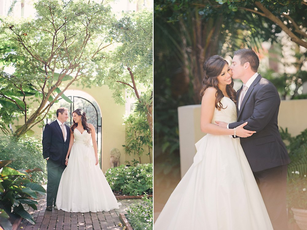 Four Arts Garden Wedding West Palm Beach Florida