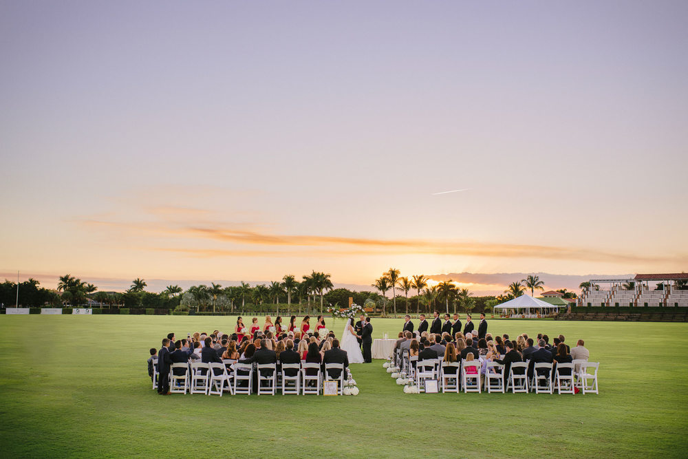 Florida Sunset Destination Wedding