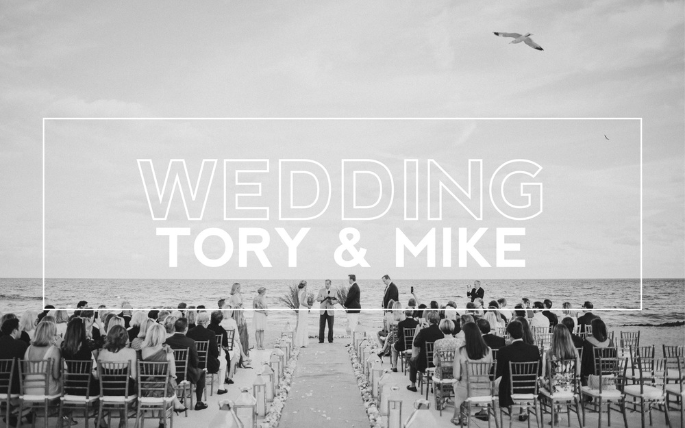 Tory & Mike Casey Wedding