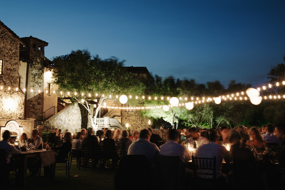 Bella Collina Lawn Wedding Reception