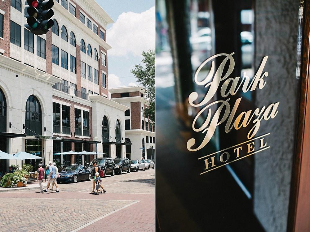 Park Plaza Hotel Winter Park Florida Wedding