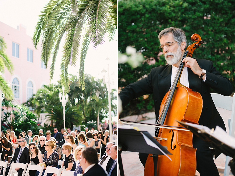 Don Cesar Outdoor Florida Ceremony