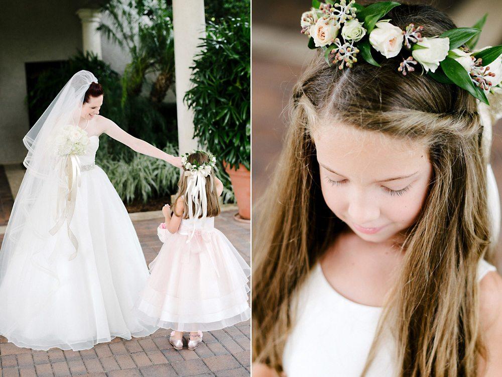 Flower Girl Floral Headband
