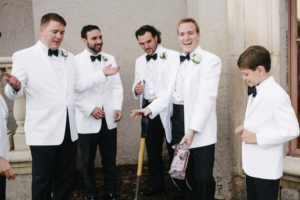 wedding tradition of burring the bourbon