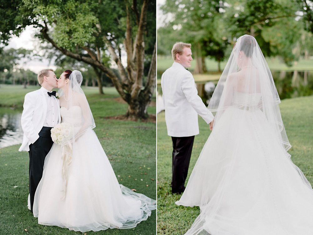 Orlando Country Club Elegant Fine Art Wedding