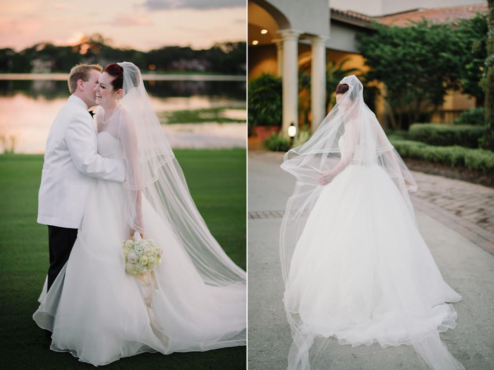 Orlando Country Club Elegant Fine Art Wedding