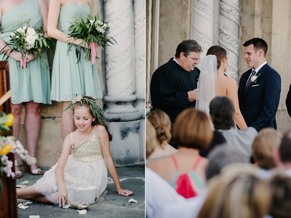 Downtown Lakeland Wedding Breanne and Cliff