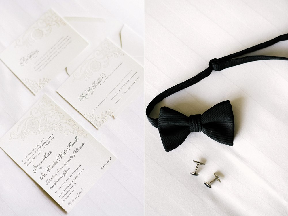 Black Tie Florida Wedding