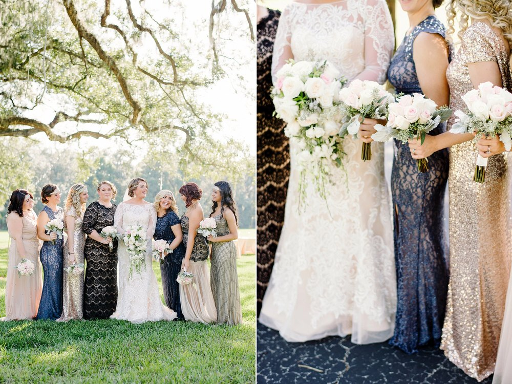 Great Gatsby Inspired Bridesmaids Dresses