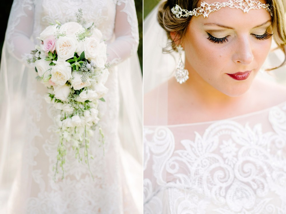 Beautiful Sleeve Bridal Gown