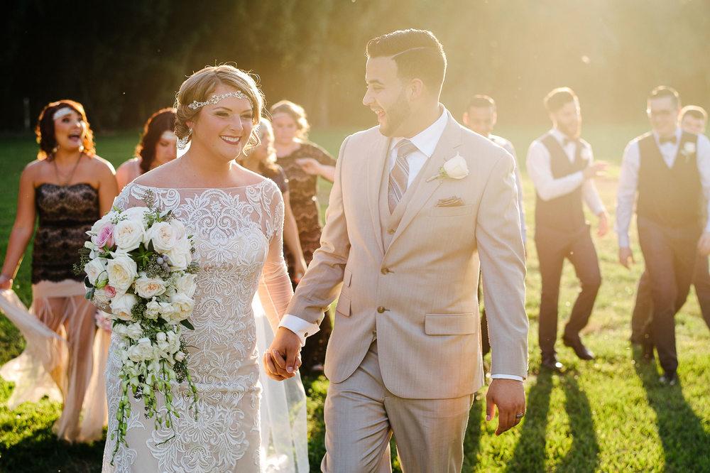 Great Gatsby Inspired Wedding