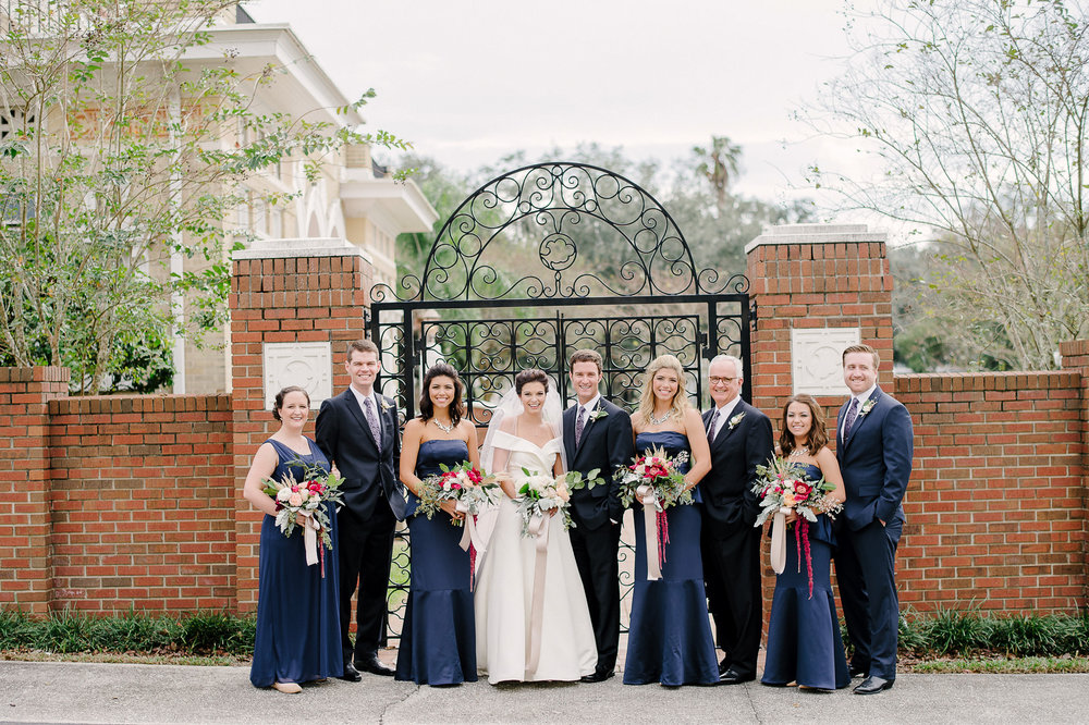 Elegant Sorosis Building Wedding Lakeland Florida