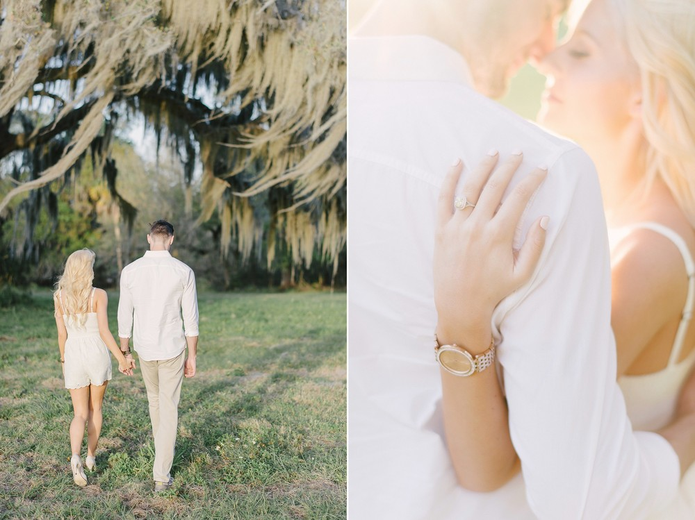 Lakeland Florida Engagement Session Circle B Reserve