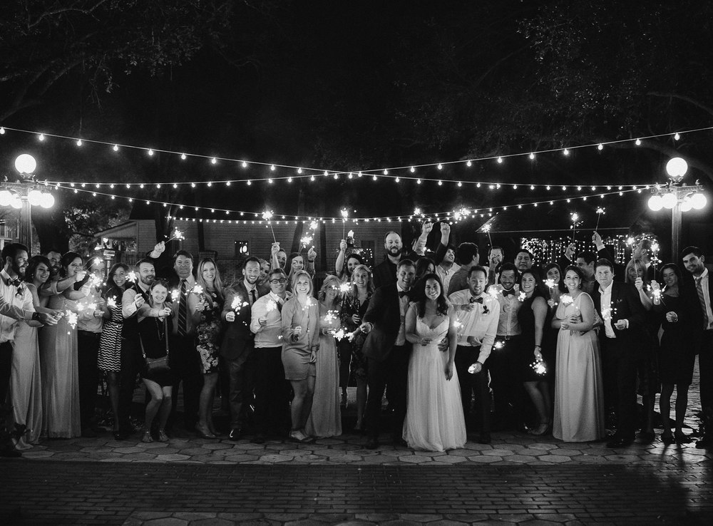 ideas for sparklers at weddings