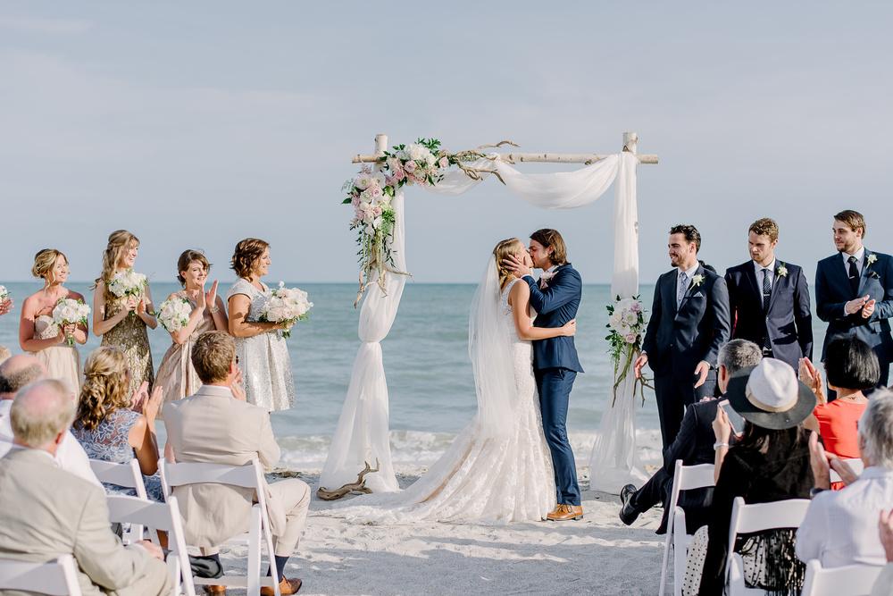 Casa Ybel Beach Wedding in Sanibel Florida