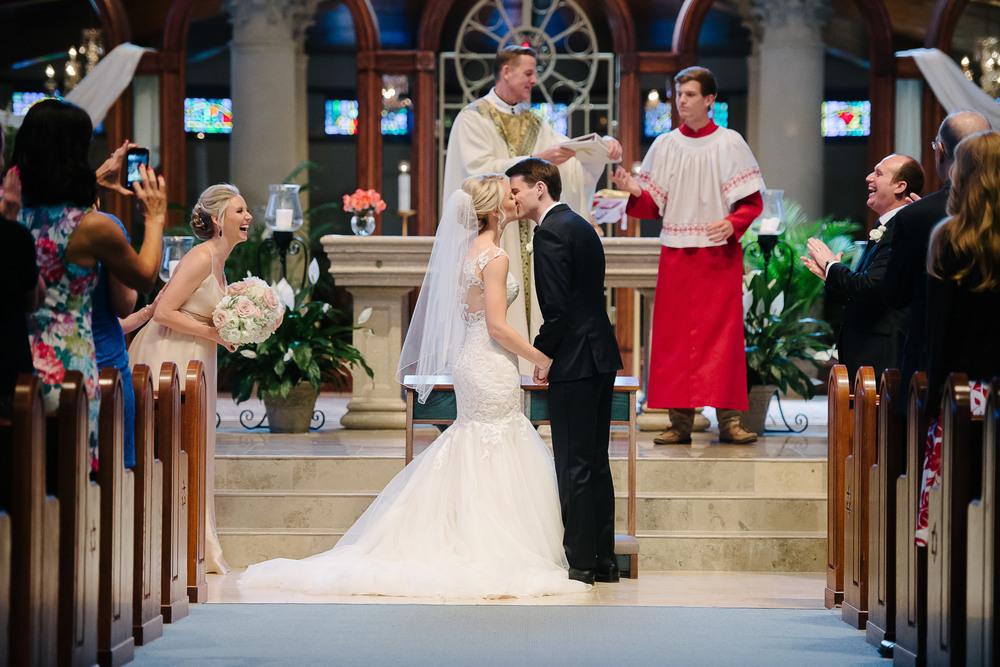 Annunciation Catholic Church Wedding Orlando FL