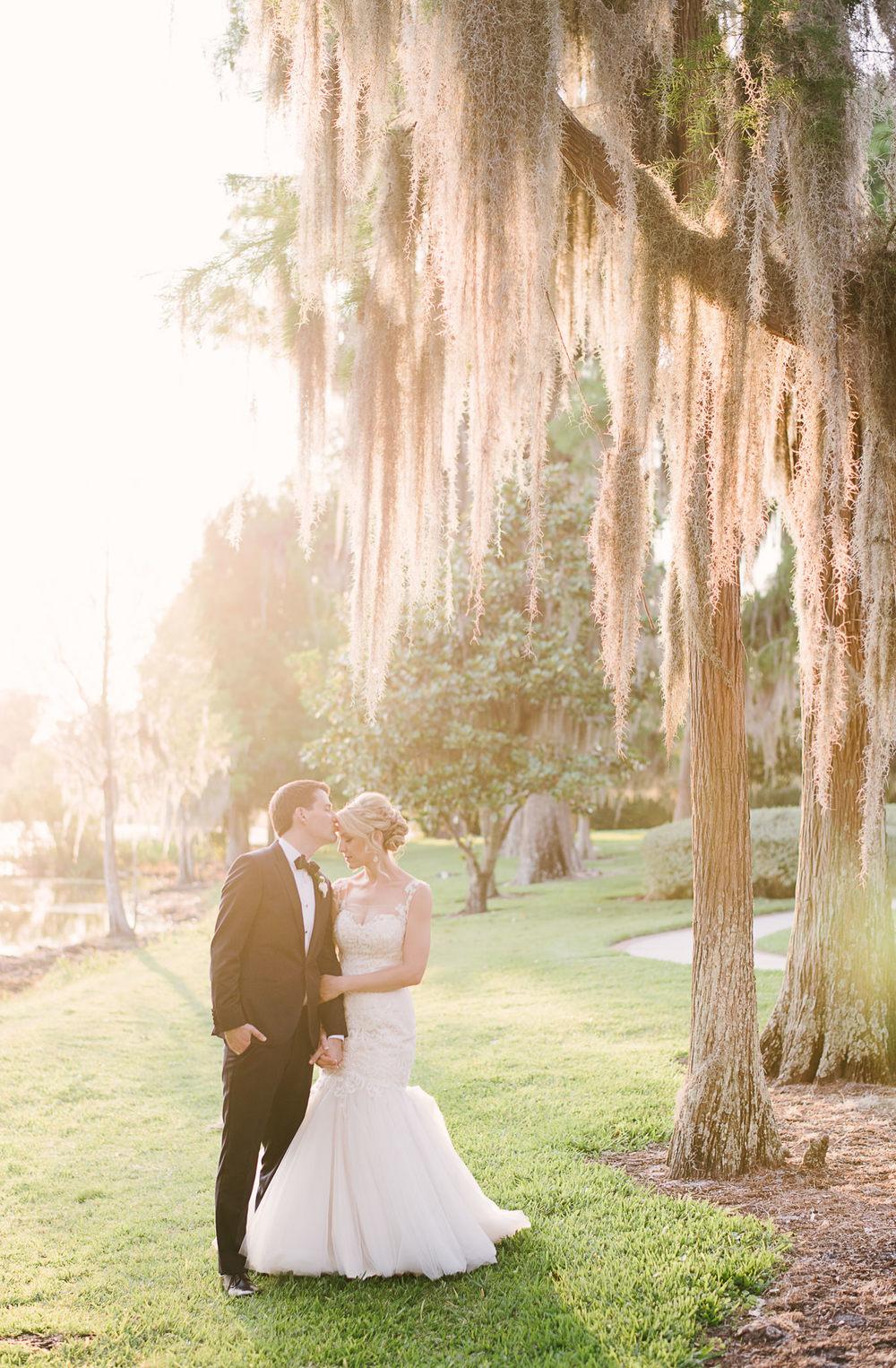Mossy Cypress Trees Wedding