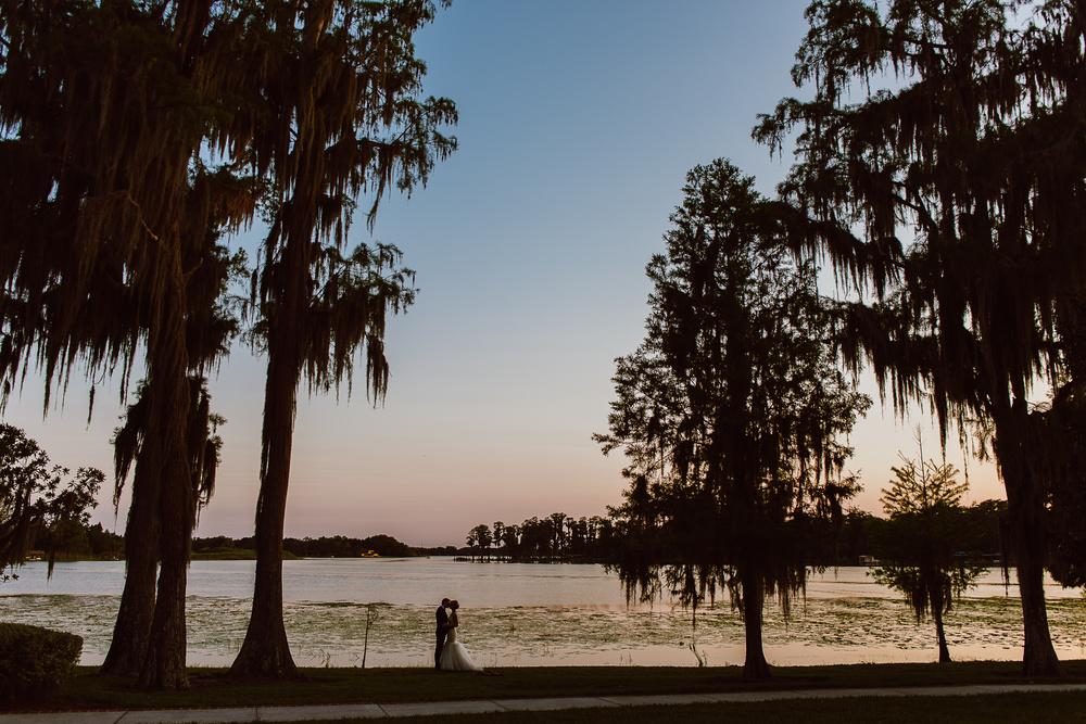 Florida Lake Wedding