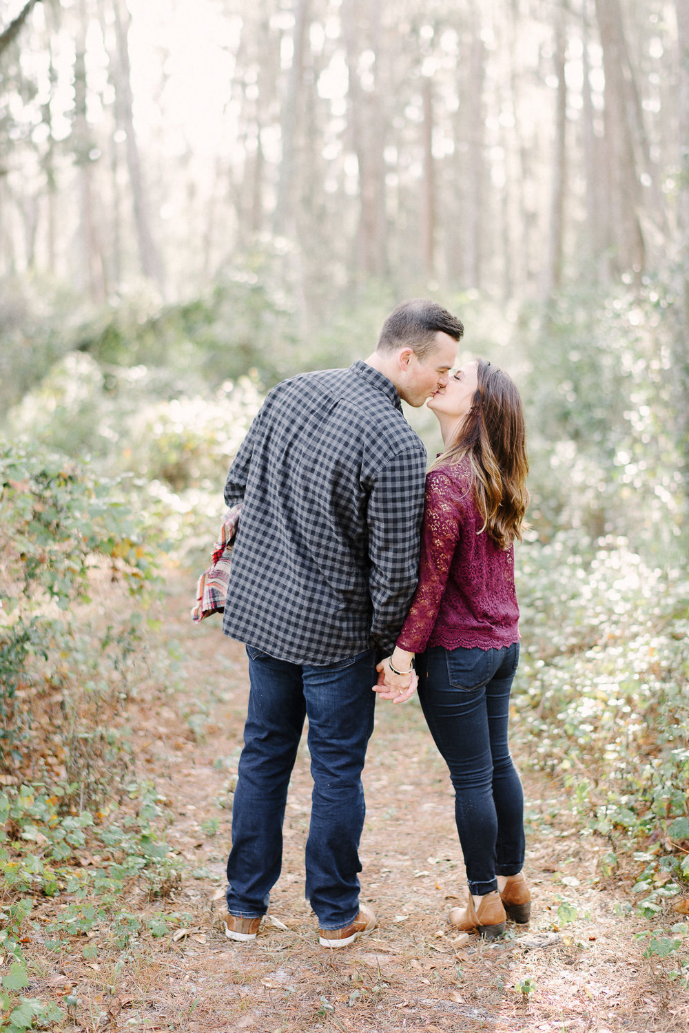 Woodsy Engagement Session Lake Louisa State Park