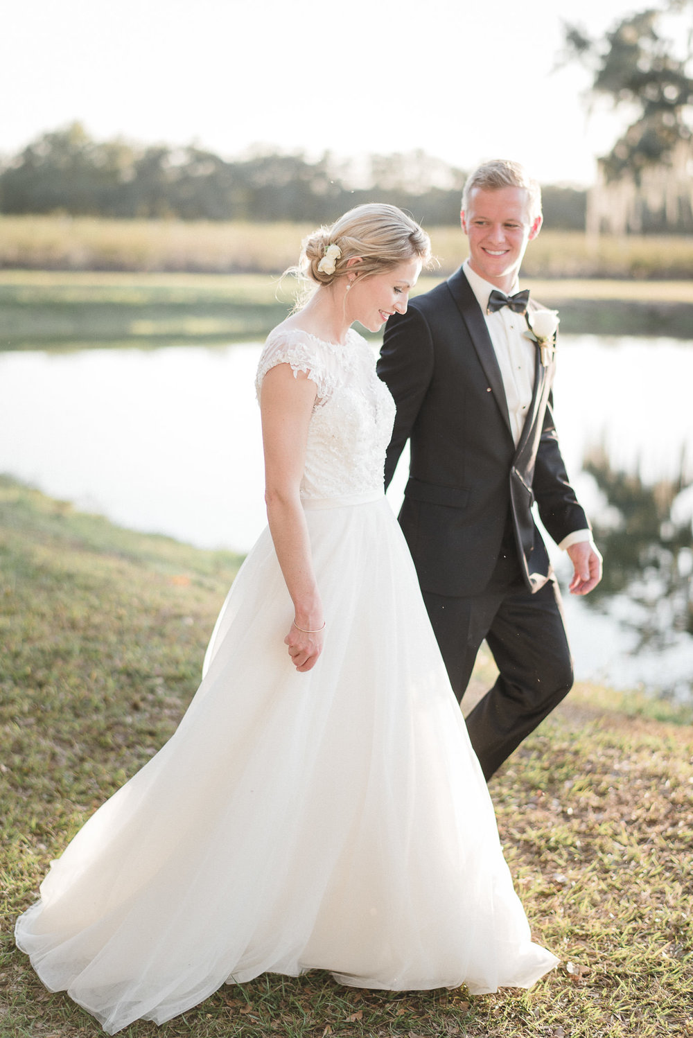 Light and Airy Film Wedding Photographer Florida