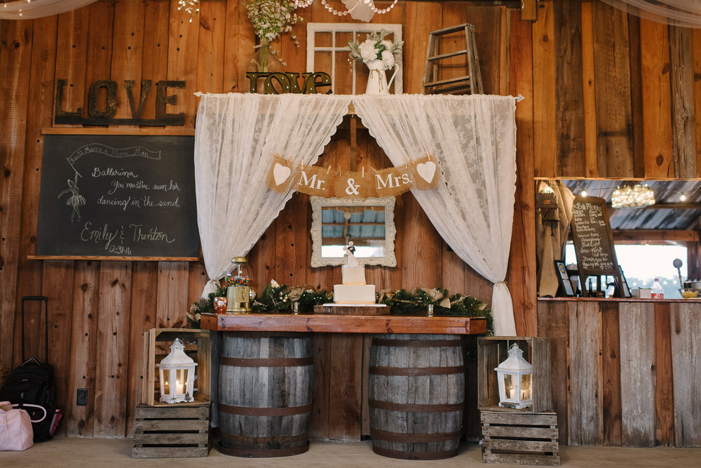 Elegant Barn Wedding Florida