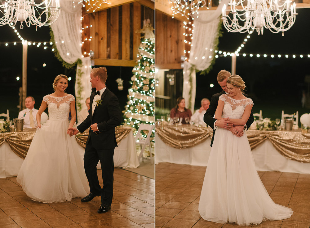 Elegant Barn Wedding Florida on New Years Eve
