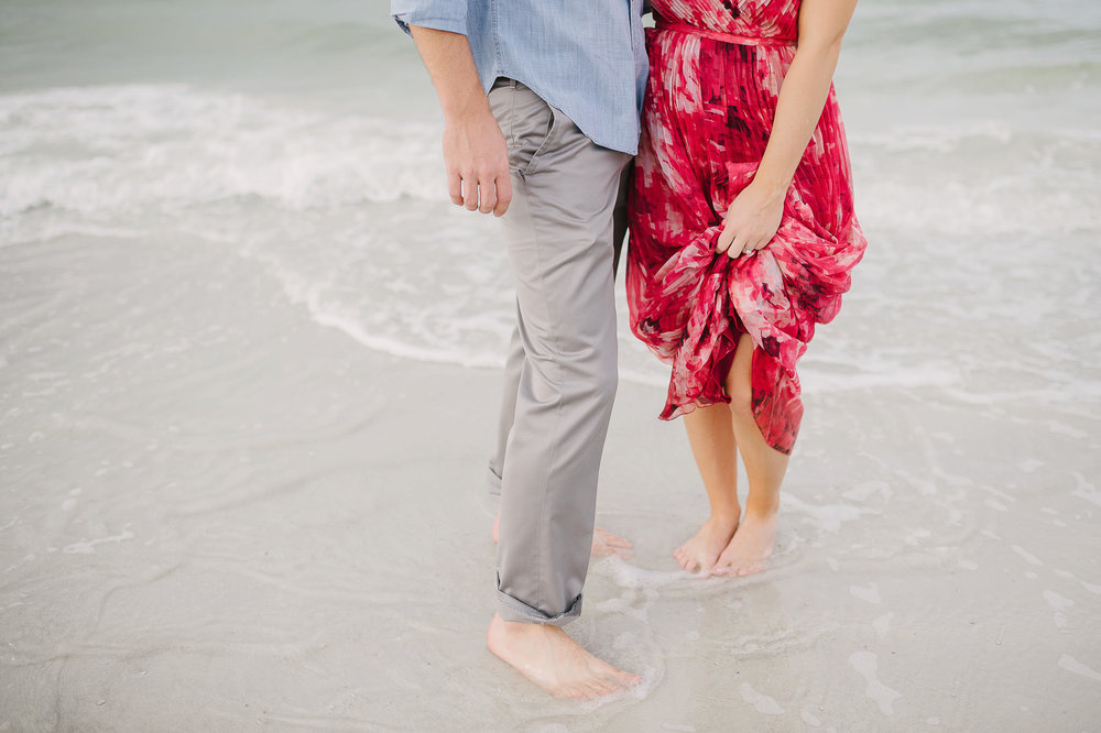 Beautiful Beach Engagement Pictures