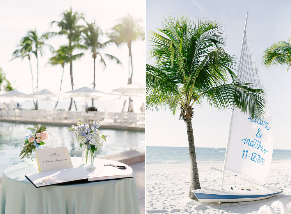 Luxury Naples Beach Wedding Photography Port Royal Club
