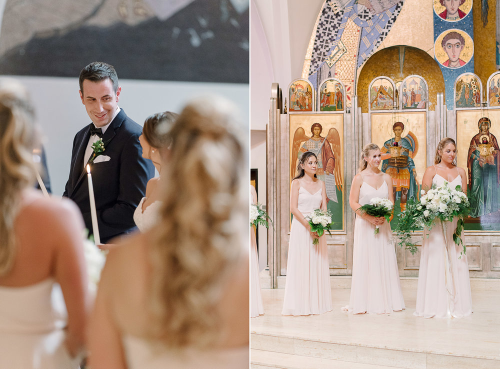 Saint Demetrios Church Wedding Seattle WA