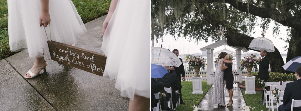 what to do when it rains on your wedding day