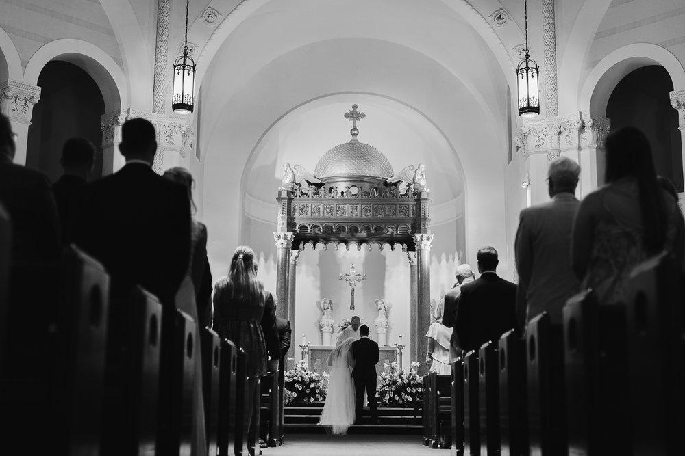 Saint Mary Our Lady of Grace Catholic Church Wedding