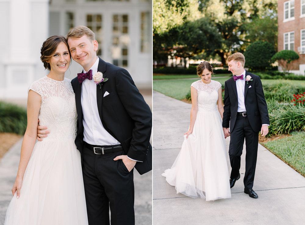 Florida Southern and Covenant Presbyterian Church Wedding Lakela