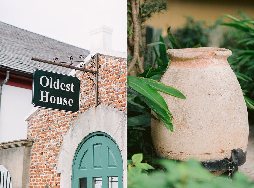 Oldest House St Augustine Florida Wedding