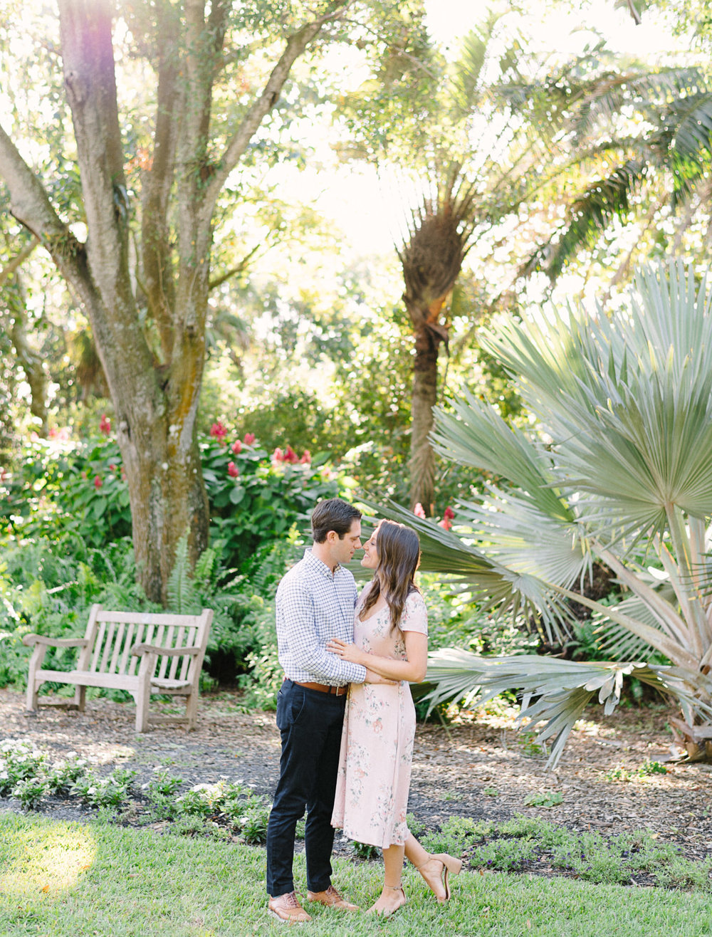 Selby Gardens Sarasota Engagement Session