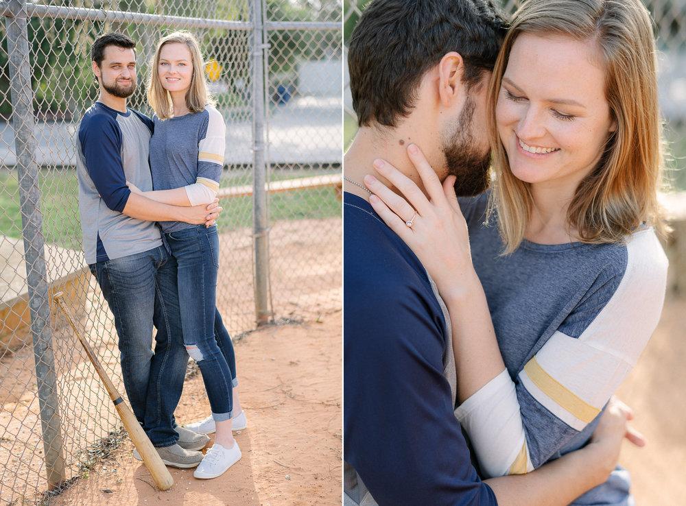 Sandlot Baseball Themed Engagement Session