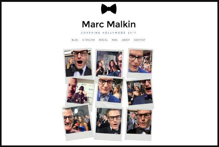Designed for Senior Editor & Writer Marc Malkin