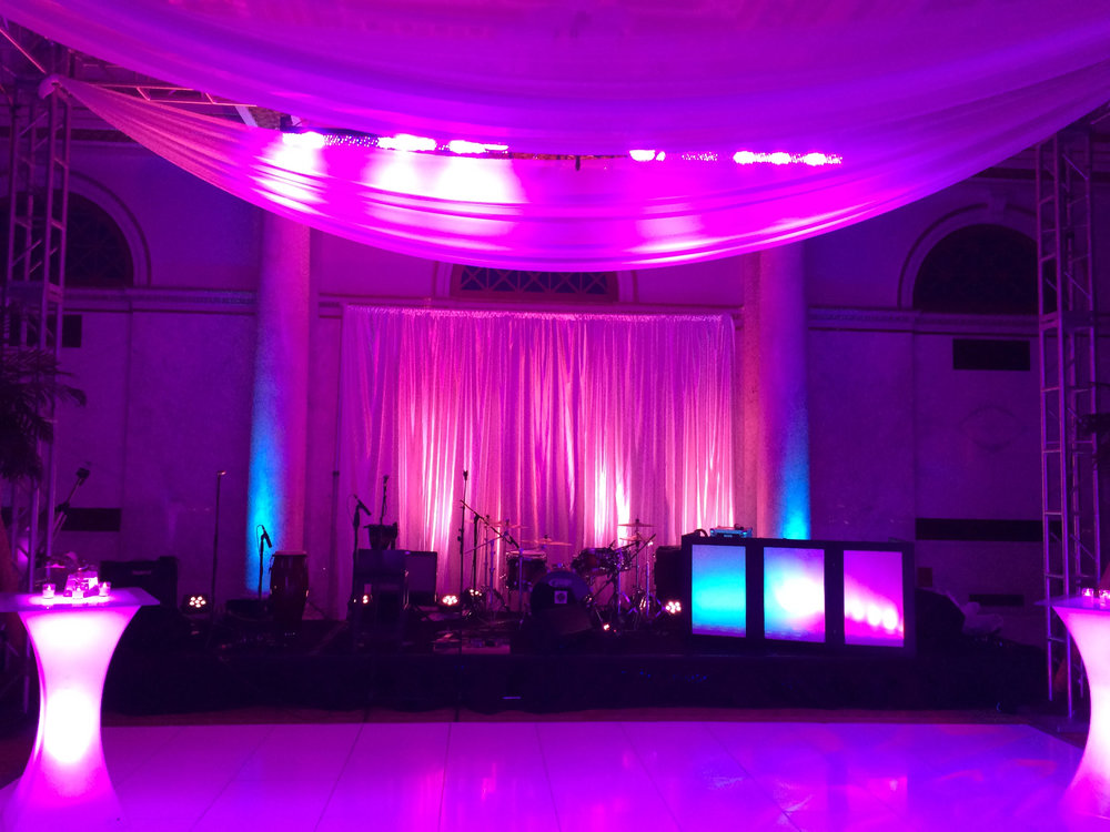 Uplighting wedding djs for DC, Annapolis, Baltimore and Northern VA