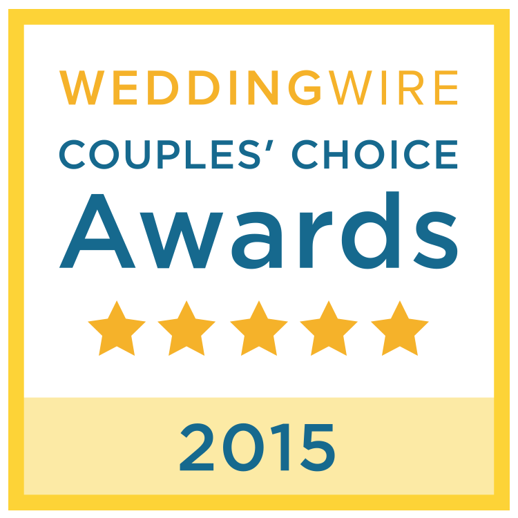 Wedding Wire couples choice 2015 - best dj for dc, md and va weddings