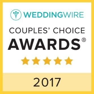 Wedding Wire couples choice 2017 - best dj for dc, md and va weddings