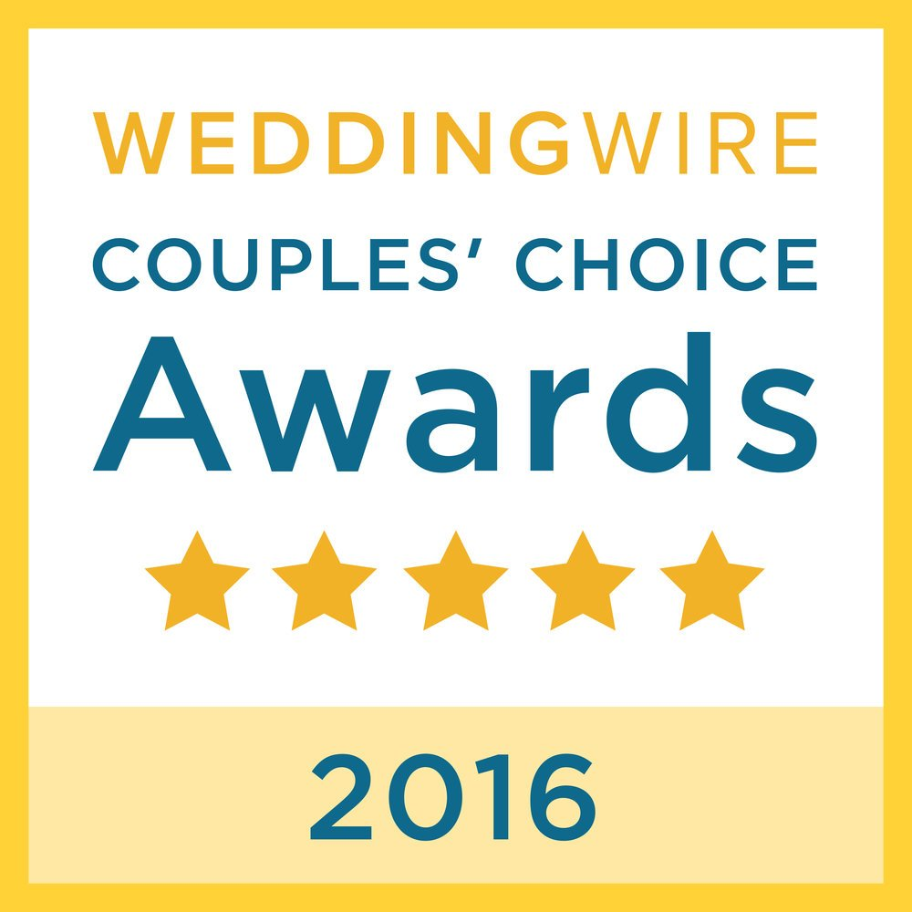 Wedding Wire couples choice 2016 - best dj for dc, md and va weddings