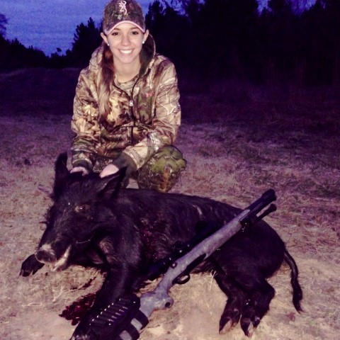 Hunter and Feral Hog