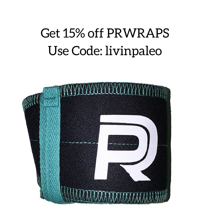 Get 15% off PRWRAPS Use Code: livinpaleo